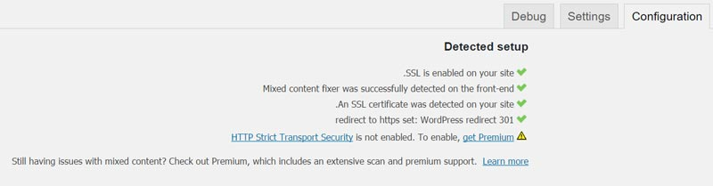 افزونه Really Simple SSL