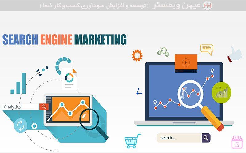 SEM چیست ؟,بازاریابی موتورهای جستجو Search Engine Marketing