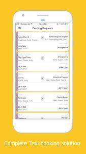 سورس اپلیکیشن درخواست آنلاین تاکسی , سیستم رزرو تاکسی به همراه پنل مدیریت